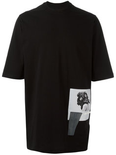 футболка с принтом Rick Owens DRKSHDW