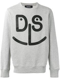 face printed sweatshirt Diesel