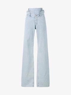 джинсы свободного кроя с завышенной талией Y / Project