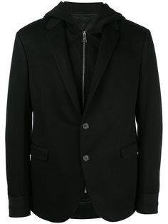 пиджак с капюшоном Neil Barrett
