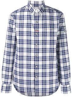 рубашка в клетку Moncler Gamme Bleu