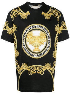 футболка с принтом логотипа Versace