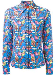 рубашка с принтом воздушных змеев Ultràchic
