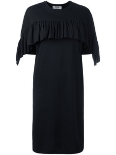 платье-футболка с оборками MSGM