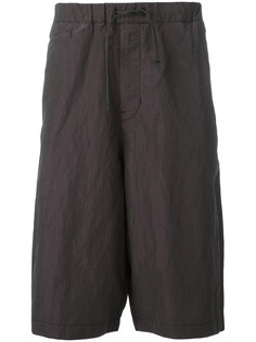 мешковатые шорты с отделкой металлик Stone Island Shadow Project