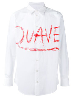 printed shirt  Julien David