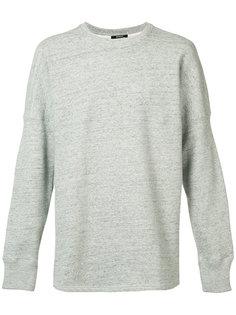 curved hem sweatshirt  Denham