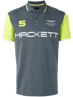 brand print polo shirt  Hackett