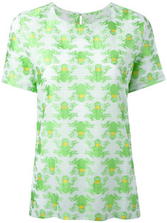 футболка с принтом лягушек Ultràchic