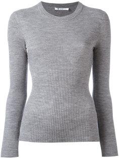 свитер в рубчик T By Alexander Wang