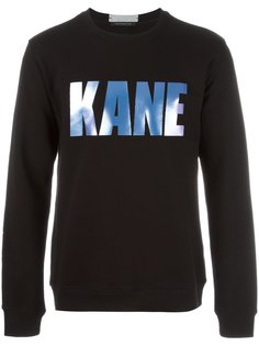 printed sweatshirt  Christopher Kane