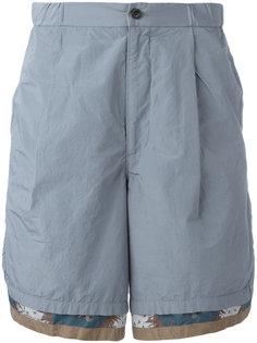 шорты с контрастными вставками Kolor