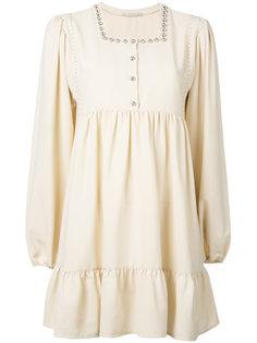 мини-платье с заклепками Amen Amen.