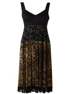 платье с плиссированной юбкой Dolce & Gabbana