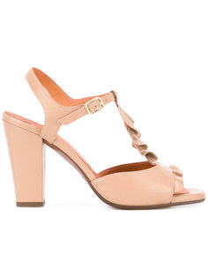 ruffle front sandals Chie Mihara