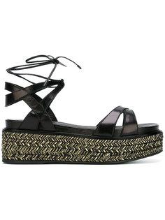 strappy platform sandals Sergio Rossi