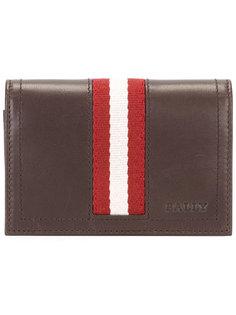 бумажник с полосатой панелью Bally