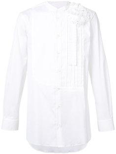 pleated plastron shirt  Ports 1961