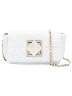 diamond panel shoulder bag Sonia Rykiel
