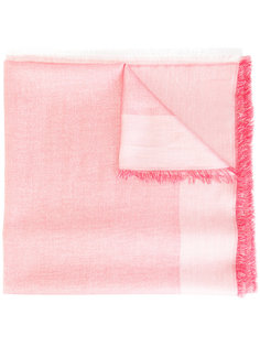 raw-edge scarf Dondup