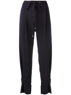 брюки на шнурке Jil Sander Navy