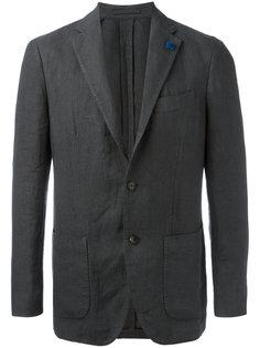pocket front blazer Lardini