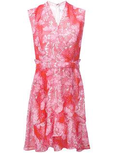 floral lace detailed dress Carven