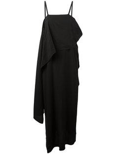 длинное асимметричное платье Lost & Found Ria Dunn