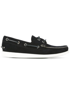 contrast boat shoes  Churchs