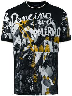 футболка с принтом musical Dolce & Gabbana