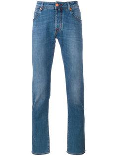 джинсы с контрастными карманами Jacob Cohen