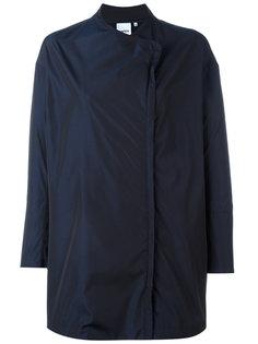minimal asymmetric front jacket Aspesi