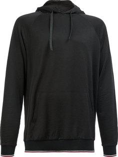 classic striped hem hoodie Lanvin