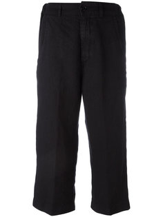 loose cropped trousers Aspesi