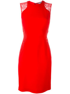 """платье """"кокон"""" с кружевными вставками Stella McCartney"""