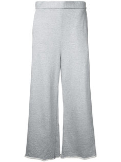 wide-leg cropped trousers Cityshop