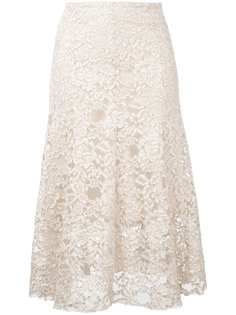 floral lace midi skirt Cityshop