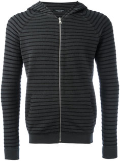 striped hoodie Roberto Collina