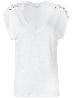 laced sleeve T-shirt Iro