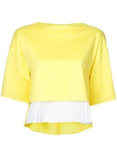 pleated hem blouse Taro Horiuchi