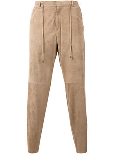 panelled cropped trousers Desa 1972