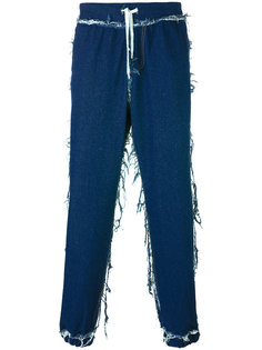 cuffed straight jeans Andrea Crews