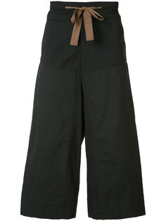 cropped wide-leg trousers Ziggy Chen