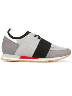кроссовки с контрастной лямкой Philippe Model