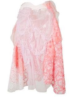gathered lace skirt Comme Des Garçons Tricot