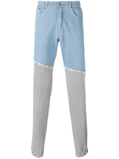 straight sweatpants legs trousers Andrea Crews