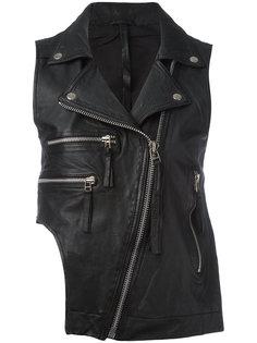 байкерская куртка без рукавов Barbara I Gongini