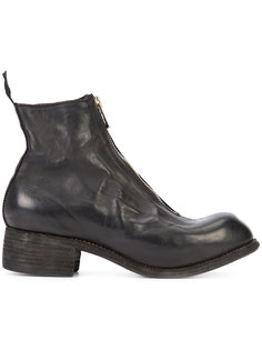 front zip boots Guidi