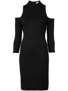 cut-out shoulders turtleneck dress Lagence