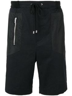 panelled track shorts  Les Hommes Urban